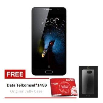 Flash Plus 2 LTE 32GB Ram 3GB Venus Gold Free Original Jelly Case