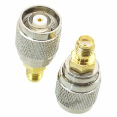 Fliegend 1pce RP-TNC Male Jack Center To SMA Female Jack RF Coaxial Adapter Connector