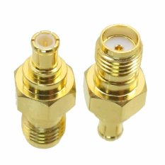 Fliegend 1pce SMA Female Jack To MCX Male Plug RF Coaxial Adapter Connector (Intl)