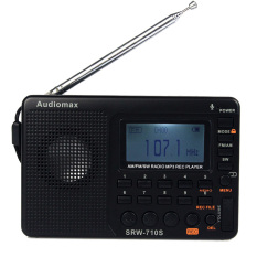 FM / AM / SW Radio Multiband Radio Receiver TF Card MP3 Player REC Recorder Portable SRW-710 With Sleep Timer Best Y4119A - Intl