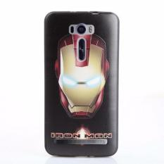 For Asus Zenfone 2 Laser ZE601KL TPU 3D Painting Cover Case(Iron Man) -