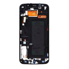 For Samsung Galaxy S6 Edge G925V G925P Lcd With Frame Screen Touch Screen Touch Lens Digitizer Replacement Parts Black - Intl