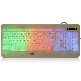 Forev FV - L6 103-Key Colorful USB Wired LED Backlight Keyboard