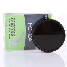 Fotga 55mm Slim Fader ND Filter Adjustable Variable Neutral Density ND2 To ND400 (Intl)