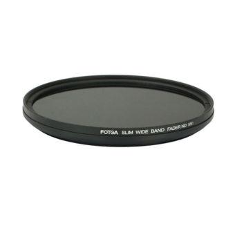 Fotga 58mm Slim Fader ND Neutral Density Filter ND2 To ND400 (Black) - Intl