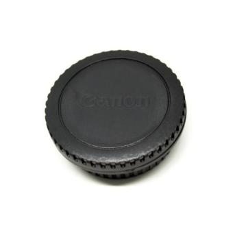 Front Cover & Rear Lens Cap for Canon (With Logo)