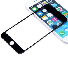 Replacement Front Screen Glass Lens Repair Replacement Kit For IPhone 6 4.7 Inch (Black)