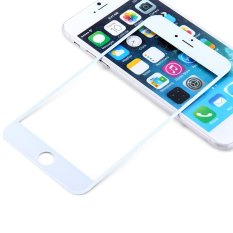 Replacement Front Screen Glass Lens Repair Replacement Kit For IPhone 6 Plus 5.5 Inch (White)