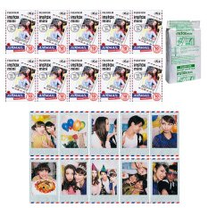 Fujifilm Instax Mini Airmail Instant 100 Film For Fuji 7.8 2.50s 7.90 / Polaroid 300 Instant Camera / Share SP-1 Printer - INTL