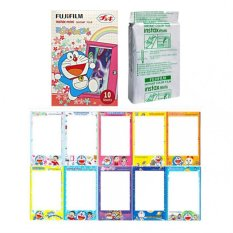 Fujifilm Instax Mini Doraemon Door Flower Instant 10 Film For Fuji 7.8 2.50.70 90 / Polaroid 300 Instant Camera / Share SP-1 Printer (Intl)