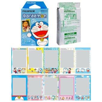 Fujifilm Instax Mini Doraemon HK Instant 10 Film For Fuji 7.8 25 50.70 90 / Polaroid 300 Instant Camera / Share SP-1 Printer