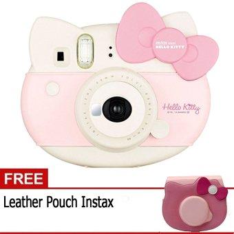 Fujifilm Instax Mini Hello KItty + Gratis Pouch Hello Kitty