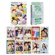 Fujifilm Instax Mini Tsum Tsum Instant 10 Film For Fuji 7.8 2.50s 7.90 / Polaroid 300 Instant Camera / Share SP-1 Printer (Intl)