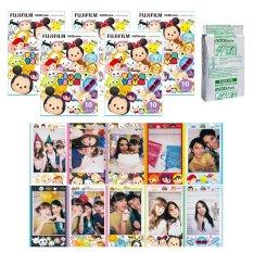 Fujifilm Instax Mini Tsum Tsum Instant 50 Film For Fuji 7.8 2.50s 7.90 / Polaroid 300 Instant Camera / Share SP-1 Printer (Intl)