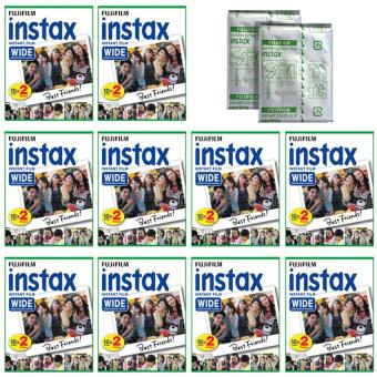 Fujifilm Instax Wide White Edge Instant 200 Film For Fuji Wide 210,300 Instant Camera