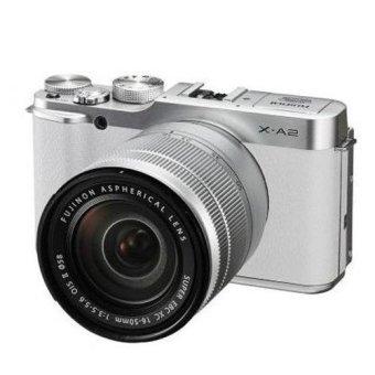 Fujifilm Mirrorless X-A2 Kit 16-50MM F/3.5-5.6 OIS II - Silver