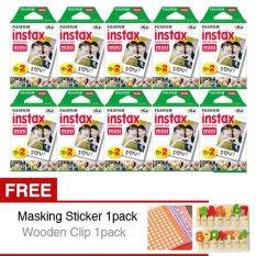 Fujifilm Refill Instax Mini Film Twinpack Plain - 10 Buah