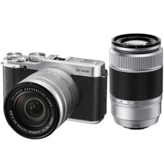 Fujifilm X-A2 16-50mm+50-230mm KIT SILVER - intl