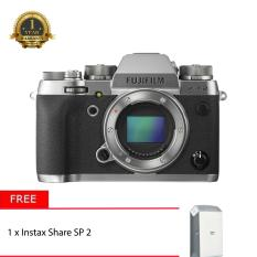 Fujifilm X-T2 Body Only Graphite Silver + Instax Share SP-2 (Silver)