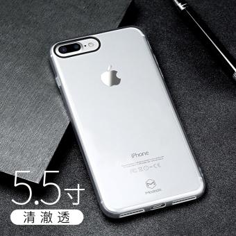Gandum Duoduo 7plus transparan IPHONE dekompresi pelindung shell handphone shell