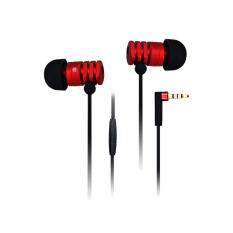 GEDIAO GD500 HIFI Metal High Performance Intelligent Magic Sound In-ear Headphone Noise Reduction Headsets Earplugs (Red) (Intl)