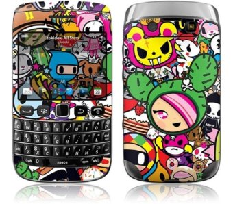 Gelaskins Tokidoki All Stars Blackberry Bellagio 9790