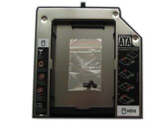 Generic Ultrabay Slim Sata 2nd Hdd Hard Drive Caddy For Lenovo Thinkpad T410si T410i X201t X220t Ultrabase Series 3 Thinkpad X230