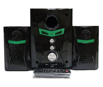 GMC 888D1 Multimedia Speaker Subwoofer - Hitam