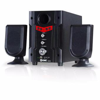 GMC 888D2 Audio Multimedia Speaker 2.1 - Merah