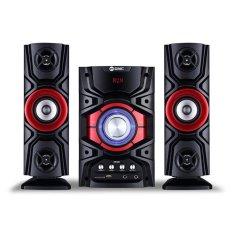 GMC Multimedia Aktif Speaker 889D BLUETOOTH - Merah / Red