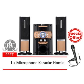 GMC Multimedia Speaker 885S / Speaker Aktif 2.1ch ( Bluetooth & Karaoke )