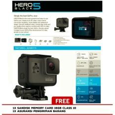 GoPro HERO 5 Black Edition - ActionCamera 12MP - Garansi Resmi