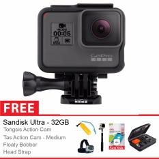 Gopro Hero 5 Black Edition + Free Aksessories Action Cam