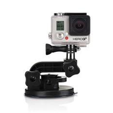 GoPro Suction Cup Mount - Hitam