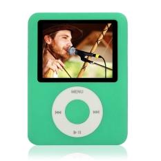 "GoSport 8GB Slim MP3 MP4 Player 1.8"" LCD Screen FM Radio Video Games (Green)"