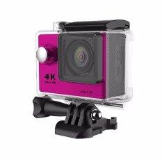 H9 1080P Full HD mini DVPhoneWiFiSportOutdoorWaterproofCamera(Pink) - intl