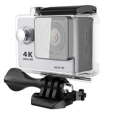 H9 4K EKEN Action Camera Wifi Sports Cam (Silver) + free bobber
