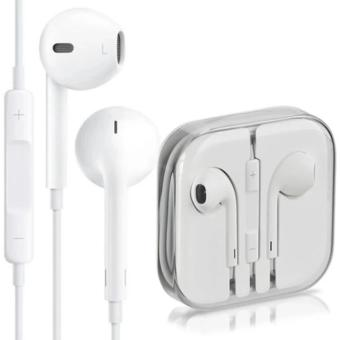 Handsfree For Apple iPhone 5/5c/5s Headset / Earphone For All Phone Model Stereo - White/Putih