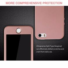 Hardcase Case 360 Iphone 5/5s/5SE Casing Full Body Cover - Rose Gold