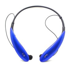 HBS 800 Wireless Handsfree Bluetooth Headsets Sports Stereo Headset (Blue) (Intl)