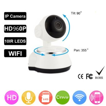 HD 960P Wireless Security IP Camera WifiI Wi-fi Camera R-Cut Night Vision Audio Recording Surveillance Network Indoor Baby Monitor - intl