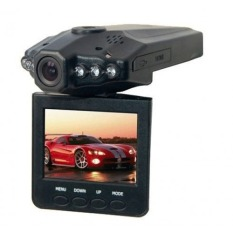 HD DVR Car Recorder 6 IR LED 2.5 Inch TFT Color LCD HD Car DVR Camera - PD-198 - Black