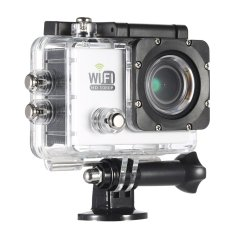 HD penuh Wifi kamera DV Cam Olahraga aksi 2.0 inci LCD 12 megapiksel 1080P 30FPS 4 x meningkat 140 derajat lensa lebar tahan air untuk mobil DVR FPV kamera PC Sepeda Selam aktivitas luar ruangan