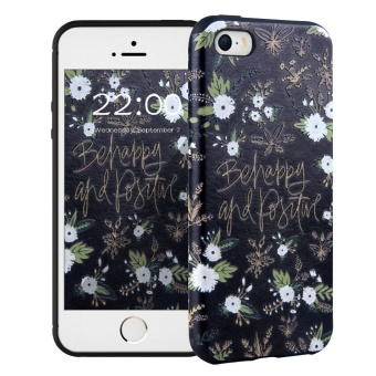 Hicase Creative Pattern Scratch Resistant Soft TPU Case Cover for Apple iPhone 5 / 5s /