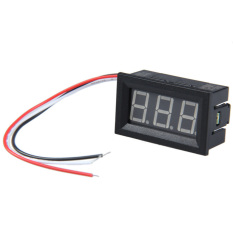 HKS 0.56inch LCD Blue Light DC 0-100V Panel Meter DC Digital Voltmeter (Intl)