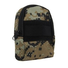 HKS Mini Practical Waist Tactical Camera Phone Accessory Bag For Outdoor Sports Digital Camouflage (Intl)