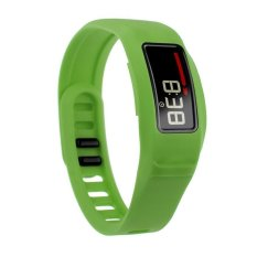 HKS New Replacement Silicone Strap Clasp Wrist Bracelet Band For Garmin Vivofit 2 Green S