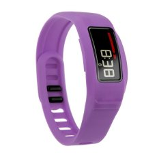 HKS New Replacement Silicone Strap Clasp Wrist Bracelet Band For Garmin Vivofit 2 Purple S