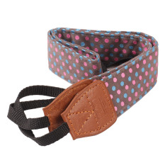 HKS Polka Dots Digital Camera Shoulder Neck Strap For Nikon Canon SLR Durable (Intl)