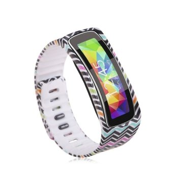 HKS Replacement Wrist Band Bracelet For Samsung Galaxy Gear Fit W / Clasp No Tracker Multicolor